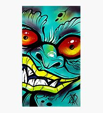Graffiti Gremlin Photographic Print