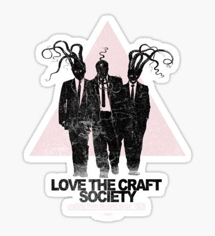 love the craft Sticker