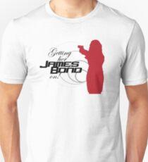 Getting her James Bond on Unisex T-Shirt
