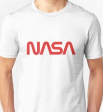 NASA Worm Logo Unisex T-Shirt