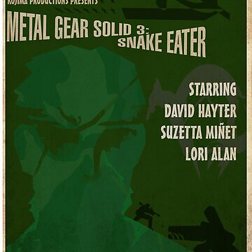 MGS3 Poster by NerdUnemployed