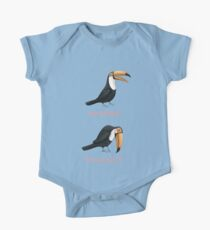 Toucan Toucan't One Piece - Short Sleeve