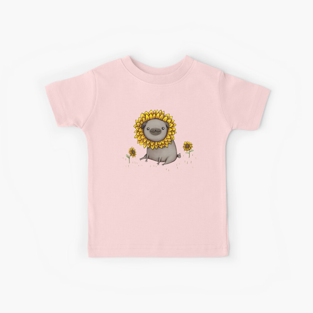 Pugflower Kids T-Shirt
