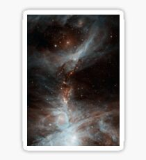 Black Galaxy Sticker