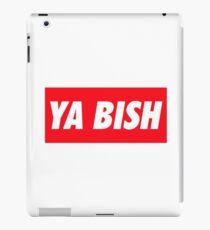 Ya Bish Typography iPad-Hülle & Klebefolie