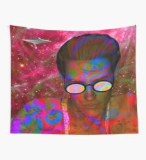 Alien Abduction Wall Tapestry