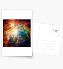 Heart of Orion Nebula | Infinity Symbol | Fresh Universe Postcards