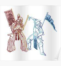 Samurai & Chevalier Poster