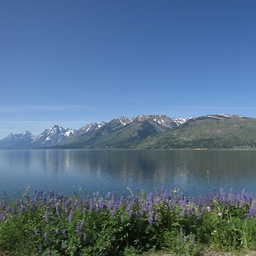Teton Lake by zenyth