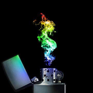 Rainbow Lighter by JordanPollock