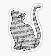 NEWSPAPER CAT tumblr merch! Sticker