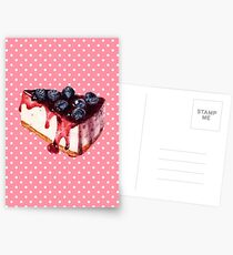 Cheesecake Postcards