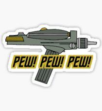 PewPewPew!! Sticker