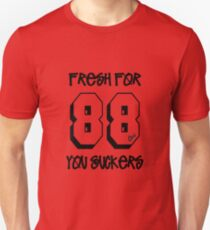 Fresh for 88 you suckers - Boogie Down Productions T-Shirt