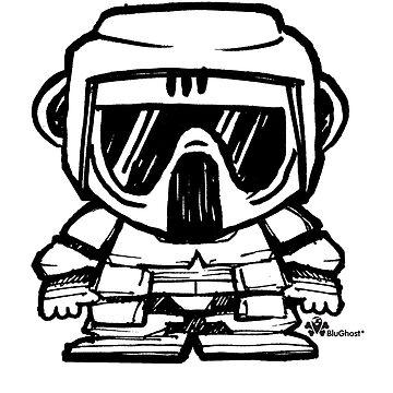 MiniWars - Biker Scout Sketch Variant by miniwars