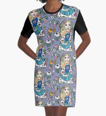 Folksy Graphic T-Shirt Dress