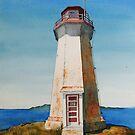 Battle Island Lighthouse #3 by Douglas Hunt