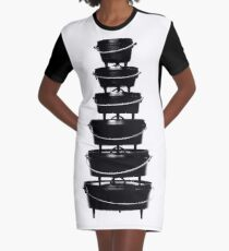 Cast iron dutch oven tower Graphic T-Shirt Dress