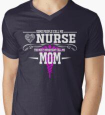 best gift for nurse mom Men's V-Neck T-Shirt