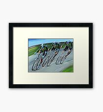 Streamlining Framed Print