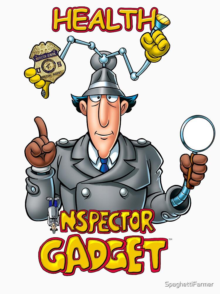 Gesundheitsinspektor Gadget T Shirt Von Spaghettifarmer Redbubble