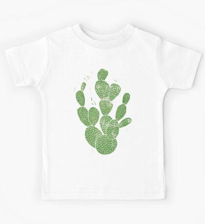 Linocut Cacti #1 Kids Clothes