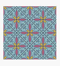 Moroccan Tile #1 Photographic Print