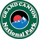 GRAND CANYON NATIONAL PARK ARIZONA MOUNTAINS HIKING CAMPING HIKE CAMP by MyHandmadeSigns