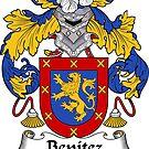 Benitez Coat of Arms/ Benitez Family Crest by William Martin