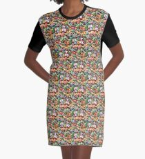 froot loops Graphic T-Shirt Dress