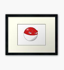 Pokemon Voltorb Framed Print