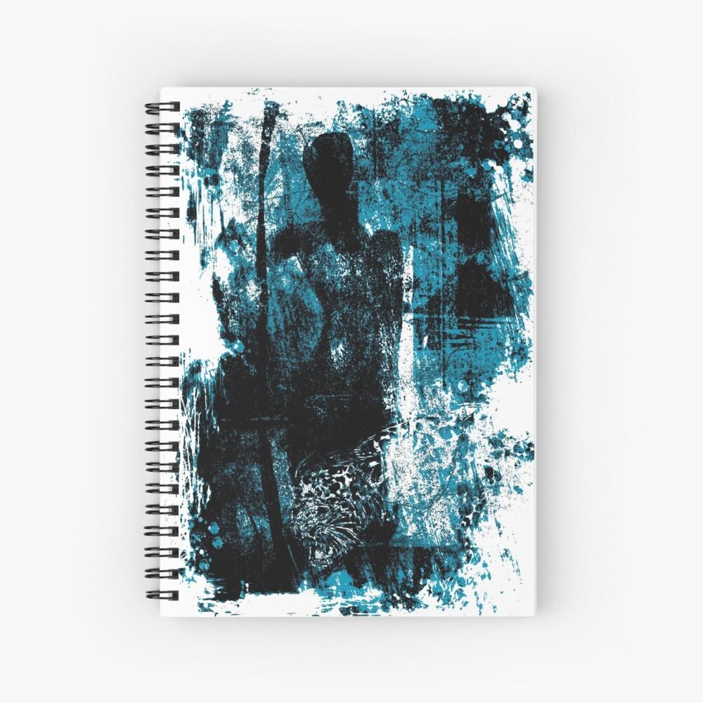 paleo warrior Spiral Notebook