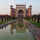 The Taj Mahal Main Entrance Gates by John Dalkin