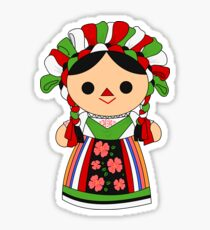 Maria 5 (Mexican Doll) Sticker