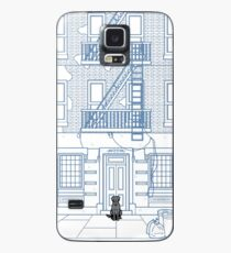 Pizza Dog, Here to Help Case/Skin for Samsung Galaxy