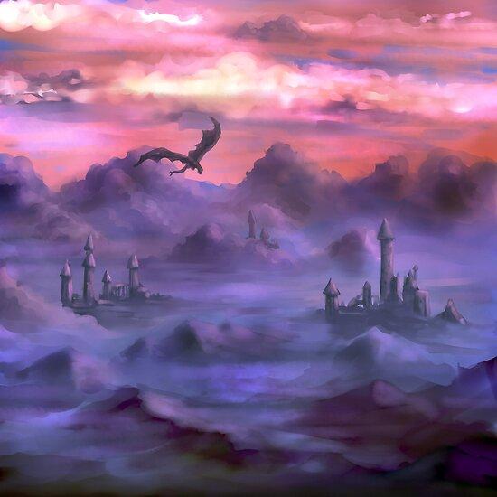 Above the clouds by Petra van Berkum