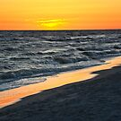 Sunset Panama City Beach by Cathy Jones