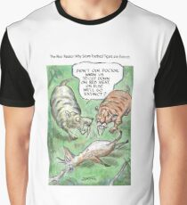 Extinct Series - The Real Reason Why Sabre-Toothed Tigers are Extinct Graphic T-Shirt