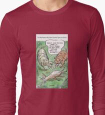 Extinct Series - The Real Reason Why Sabre-Toothed Tigers are Extinct Long Sleeve T-Shirt