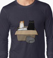 Cats in a Box Long Sleeve T-Shirt