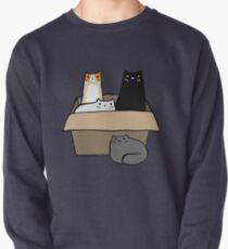 Katzen in einer Box Sweatshirt