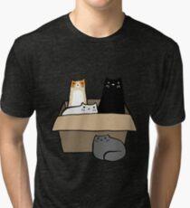 Cats in a Box Tri-blend T-Shirt