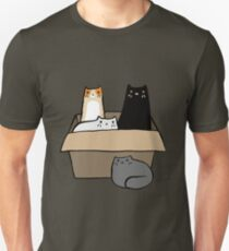 Katzen in einer Box Slim Fit T-Shirt