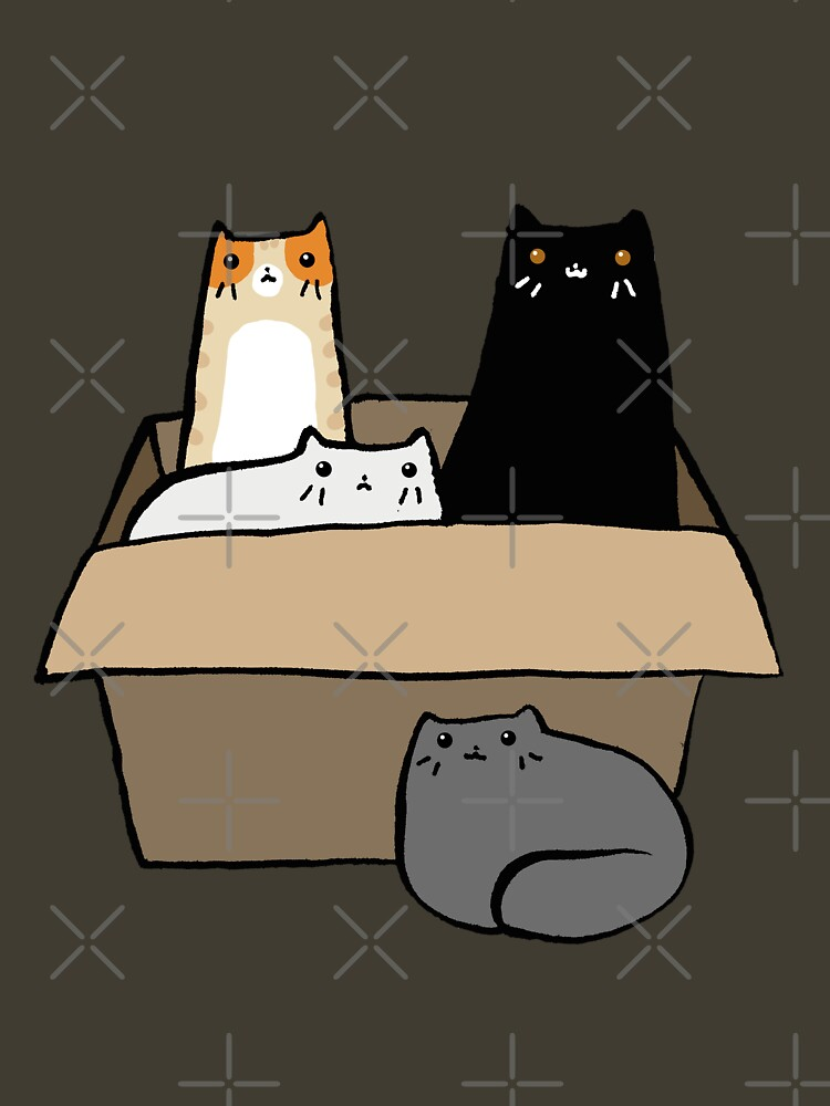 Cats in a Box by SaradaBoru