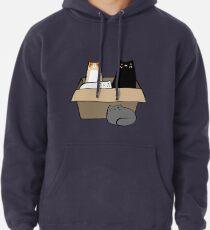 Katzen in einer Box Hoodie