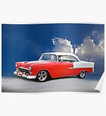 1955 Chevy 'Pretty Baby' Bel Air Poster