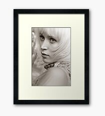 Blond Framed Print
