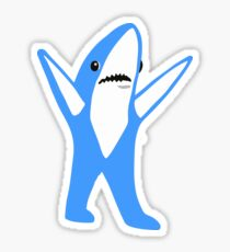 Blue shark Sticker