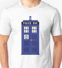 8-Bit TARDIS Unisex T-Shirt