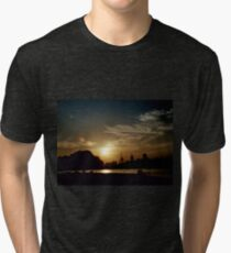 Summer Sunset Tri-blend T-Shirt